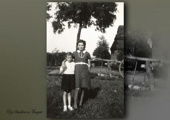 Elza Smolders en Margriet-laan van boerderij Beets-Noels