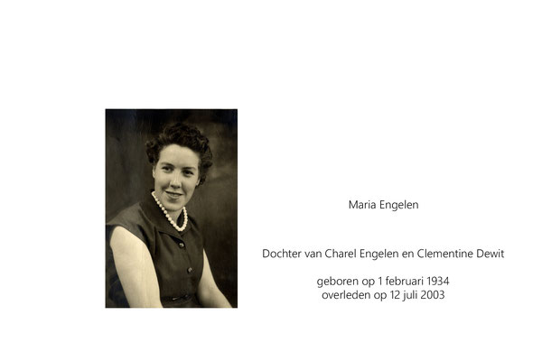 Maria Engelen
