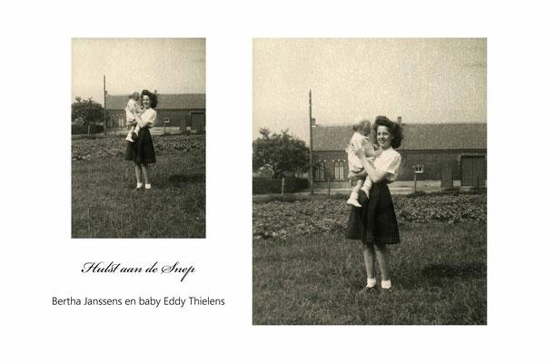 Bertha Janssens en Baby Eddy Thielens