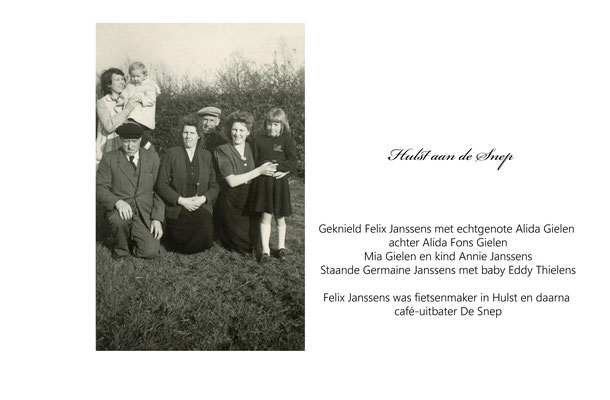 Familie Janssens-Gielen-Thielens