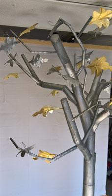 Baum 01 -Dekoidee Haus Garten   Gartendekoration, Deko, Garten, Metall, Zink, Zinkkunst, Kunst aus Zink, Kunst aus Blech,Blechkunst