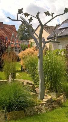 Baum 2 - Dekoidee Haus Garten Gartendekoration, Deko, Garten, Metall, Zink, Zinkkunst, Kunst aus Zink, Kupfer, Kupferkunst, Kunst aus Kupfer, Messing, Kunst aus Blech, Blechkunst