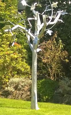 Baum 012 - Dekoidee Haus Garten Gartendekoration, Deko, Garten, Metall, Zink, Zinkkunst, Kunst aus Zink, Kunst aus Blech, Blechkunst