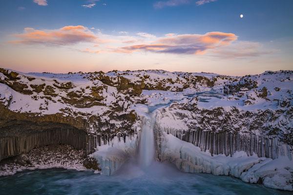 Aldeyarfoss, Island