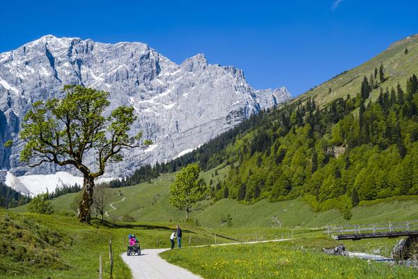 Grosser Ahornboden, Österreich