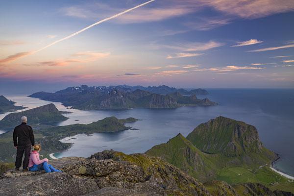 Himmelstinden, Lofoten, Norwegen