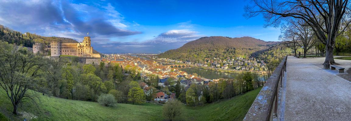 Heidelberger Schloss, Neckartal