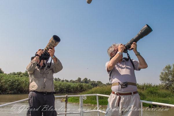 Séjour dans le delta du Danube