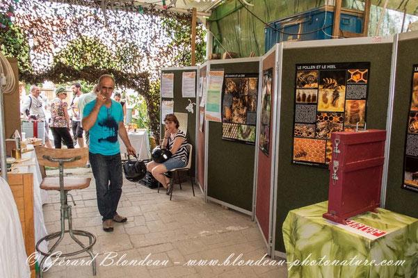 Fête du miel au jardin  du sophora de Sannois