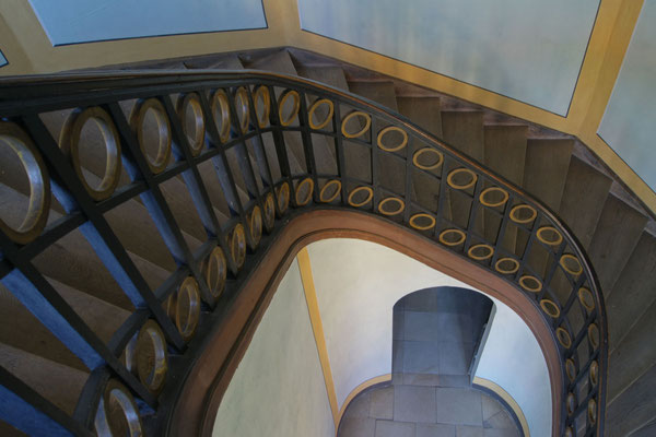 Haus Stapel, Treppenhaus zum Festsaal