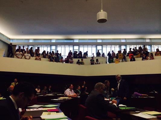 Jugendliche und Sozialarbeiter*innen kämpfen (Bürgerschaftsdebatte am 20.05.2014)