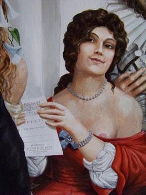 Die Dark Lady aus den Sonetten