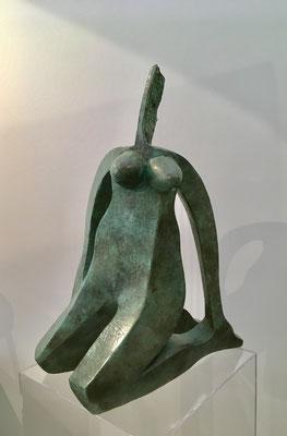 Petite Femme Guitare - Bronze