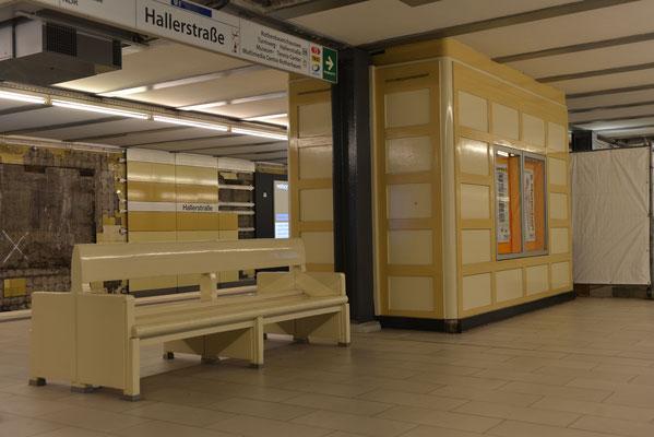 U-Bahnstation Hallerstraße © Yo Loewy 2019