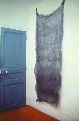 Paille de fer pour parquées, 2m50 sur 80 cm, 7kg, 1973-1974