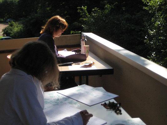 Schreiben im Kloster
