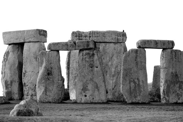 STONEHENGE, GREAT BRITAIN - 2012