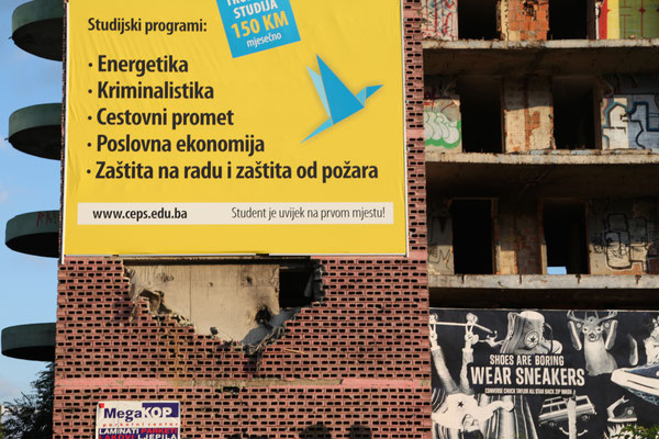 SARAJEVO, BOSNIA-HERZEGOVINA - 2014
