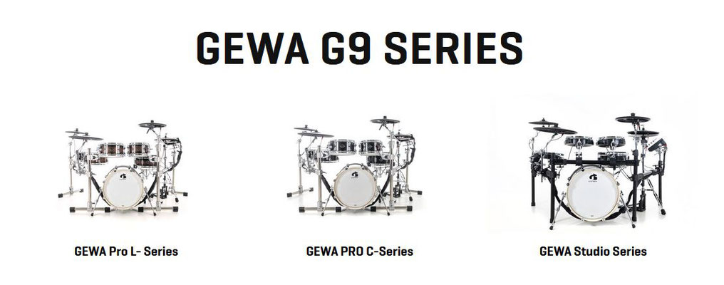 GEWA G 8 Digital Drums - Schlagzeug mal anders !