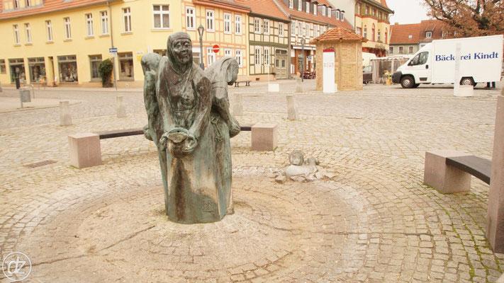 der Bassewitzbrunnen in der Altstadt | Foto: Detlef Zabel