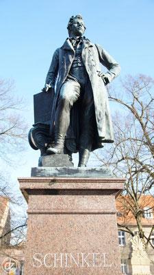 Denkmal für Karl Friedrich Schinkel | Foto: Detlef Zabel