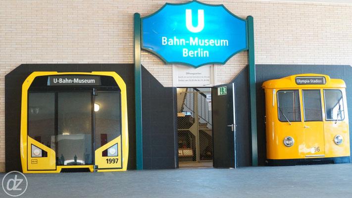 U-Bahnhof Olympiastadion - U-Bahn Museeum