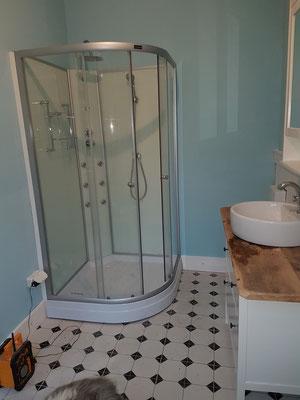 Und endlich eine Dusche ;-)
