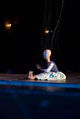"""""""Bastien und Bastienne""""  Salzburger Marionettentheater"""