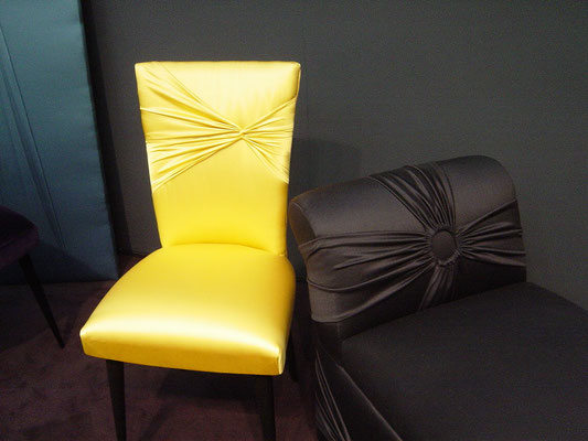 Exklusive Stuhlbezüge