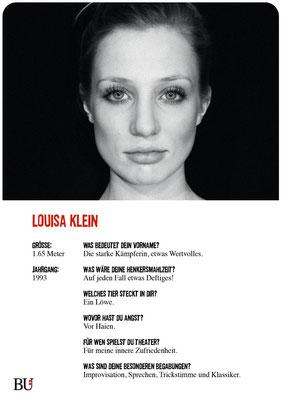 Louisa Klein - Candy Starr Kuckucksnest Hamburg 2016 Theater Orange