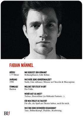 Fabian Männel - Pfleger Warren Kuckucksnest Hamburg 2016 Theater Orange