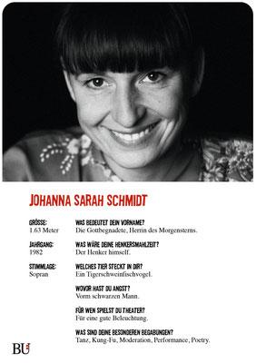 Johanna Schmidt - Helen Harding Kuckucksnest Hamburg  2016 Theater Orange
