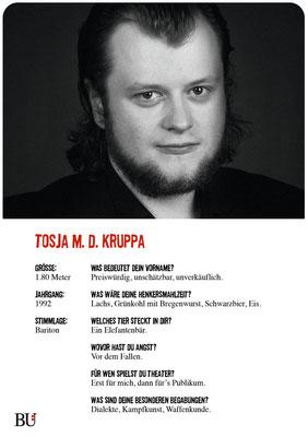 Tosja M. D. Krupa - Charles Cheswick Kuckucksnest Hamburg 2016 Theater Orange
