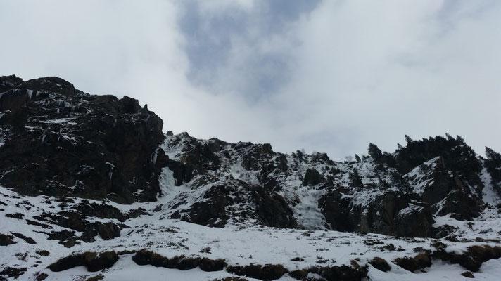 Cascades de Soulcem en décrépitude.