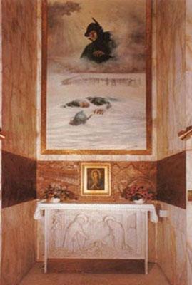 """""""Cappella della Pace - Madonna del Don"""" - La Pala dell'Alpino"""