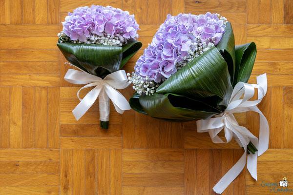 Fotografia del bouquet della sposa