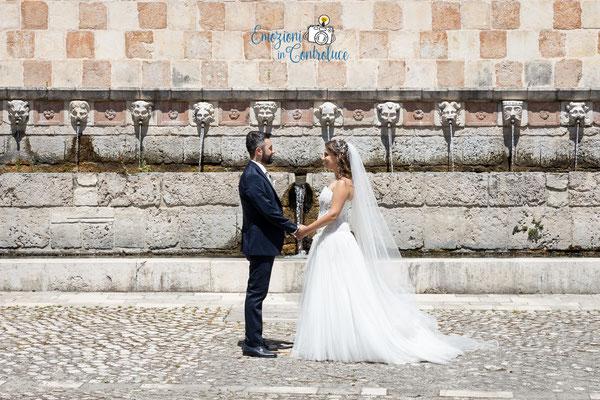 Matrimonio a L'Aquila, sposi alle 99 Cannelle