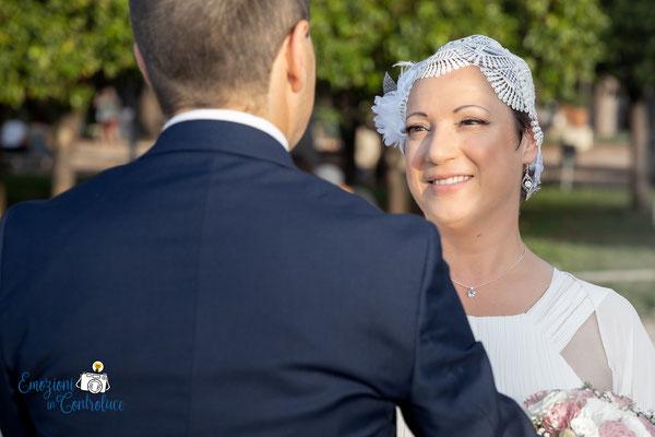 Il servizio fotografico dopo il matrimonio