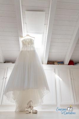 Danilo ed Erica: il vestito della sposa