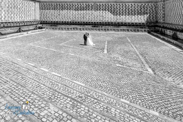 Danilo ed Erica: fontana delle 99 cannelle a L'Aquila