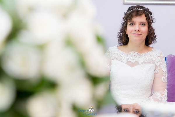 La sposa è pronta ad uscire