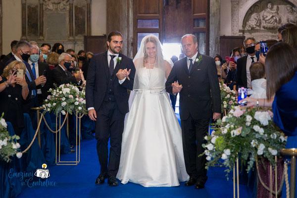 L'ingresso della sposa: matrimonio a San Pietro in Montorio a Roma