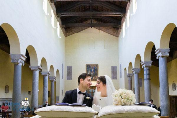 Sposi: Basilica di San Saba a Roma