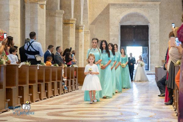 Danilo ed Erica: l'ingresso della sposa in Basilica
