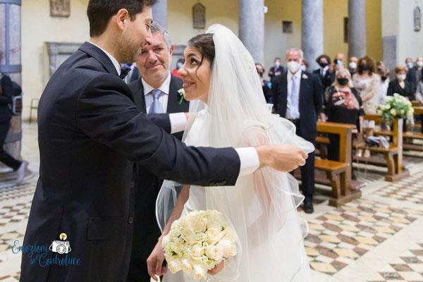 L'arrivo della sposa nella Basilica di San Saba, Roma