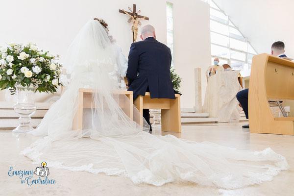il matrimonio nella chiesa di San Pietro da Pietrelcina