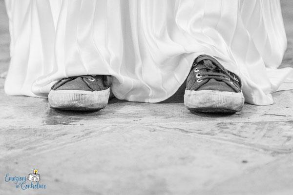Claudio e Annamaria - sotto il vestito da sposa