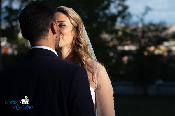 Scatti di coppia dopo il matrimonio, Gianicolo, Roma