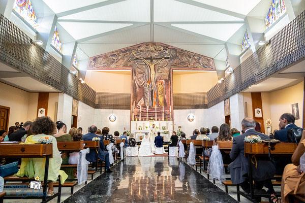 Claudio e Annamaria - la chiesa durante il matrimonio, Roma