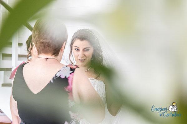 Danilo ed Erica: la preparazione della sposa